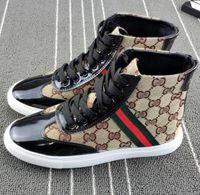 diseñador de zapatos de conducción al por mayor-Diseñador masculino, lienzo clásico para hombres y mujeres por igual zapatos de marca de diseño plano, zapatos casuales de hombre zapatos casuales de mujer, zapatos de conducción G1.10