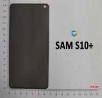 фильм 19 оптовых-Для Samsung S10 PLUS примечание 9 10 8 3D конфиденциальность закаленное стекло-экран протектор Unti Spy Glass Film с розничной упаковке
