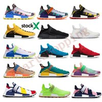 Wholesale pharrell williams human race nmd for sale - Group buy Best Quality NMD Human Race Pharrell Williams Men BBC Infinite Species Know Soul SUN CALM Solar Pack HU Trail Women Designer Shoes