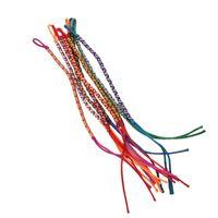 brasilianer armbänder großhandel-9pcs Bracelets Brazilian Wire Braid handgemachte ethnische mehrfarbige # 4
