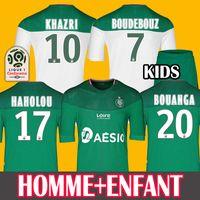 equipamento jersey venda por atacado-HOMEM + CRIANÇAS 19 20 Soccer Jersey AS Saint-Etienne Camisas De Futebol HOME AWAY 2019 2020 ASSE Etienne camisa de futebol KHAZRI CABELLA BERIC NORDIN HAMOUMA Camisas de futebol