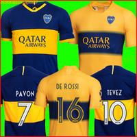 ingrosso calcio uniforme sportivo-2019 2020 maglia da calcio Boca Juniors Home Away 19 20 GAGO OSVALDO CARLITOS PEREZ DE ROSSI TEVEZ PAVON JRS divise da calcio sportive