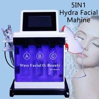 limpador de rosto ultra-sônico venda por atacado-Hydrafacial Hydro Dermoabrasão Limpeza da pele Rejuvenescimento Diamante Microdermoabrasão Limpeza Profunda BIO Face Lift Ultrasonic Beauty Machine
