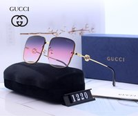 Wholesale rimless mens glasses for sale - Group buy 2019 New Sunglasses Luxury Sunglasses Stylish Fashion Designer Sunglasses for Mens Womens Glass UV400 Style with Litttle Bees With BOX