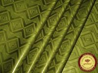 getzner ткани оптовых-GetzhTex Высококачественная ткань базен-рич армейский зеленый дамасская парча Shadda Guinea Soft 100% хлопок 10 ярдов с духами, похожими на Getzner