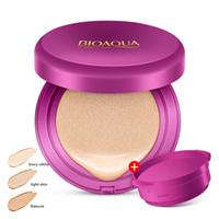 crema facial nueva para blanquear al por mayor-Air Cushion BB Cream Corrector Hidratante Fundación Maquillaje Blanqueamiento Ilumina Cara Belleza Cosmética
