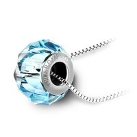 importieren vergoldeten schmuck großhandel-Mode-Elemente Österreich importiert Kristall Halskette - Liebe Perlen Mode Plaqué Claviclekette Luxuxentwerfer Schmuck Damen Halskette