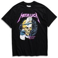 ingrosso maglietta personalizzata da uomo-T-shirt Metallica Harvester Of Sorrow Black Poster Tutte le Taglie M-3XL T-shirt personalizzata Custom High Hipster Tees
