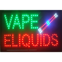 Wholesale neon shop signs for sale - Group buy Led Smoke Shop Sign for Buiness Neon Smoke Shop Vape E liquids Store Signs Smoking Shop Business Sign Grate for Smoke Shop Cigar Store