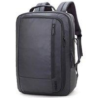 siyah 15 dizüstü bilgisayar sırt çantası toptan satış-ARCTIC HUNTER erkek Siyah Büyük Kapasiteli Sırt Çantası Oxford Bez Laptop Çantası