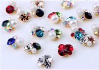 New Nail Diamonds Manual piling of alloy nail diamonds Big Diamond Bright Decoration DIY nail accessories