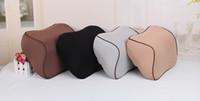 modernes outdoor-gewebe großhandel-bequeme reine Farbe Customized langsame Erholung Raum Speicher Baumwollauto Speicher Kissen Großhandel Hersteller-Direktvertrieb