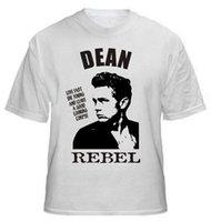 james rápidos venda por atacado-T-shirt de James Dean