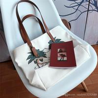 sacs à main bleu ancre achat en gros de-Grande promotion !! sacs à main sacs de femmes Summer Beach Big sacs à bandoulière dames toile marque de mode sacs de plage épaule de couleur blanc bleu