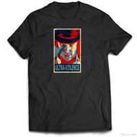 brilho alaranjado venda por atacado-Moloko Milk Clockwork Laranja O Brilhando Tumblr 80s 90s 2 Kubrick Camiseta