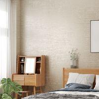 серый бежевый декор оптовых-Современные текстурированные обои Белый Серый Бежевый Сплошной цвет Обоев Спальня Гостиная Home Decor