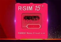 r sim iphone 3g venda por atacado-New RSIM15 cartão de desbloqueio R sim15 R SIM 15 RSIM 15 R-Sim15 cartão de desbloqueio IOS 13 Atualizado desbloqueio automático para iphone desbloqueio universal