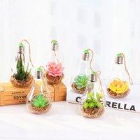 mini-desktop-bonsai großhandel-2019 Neue Künstliche Topfpflanze Tragbare Mini Simulation Sukkulenten Tropische Kaktus Lebensechte Gefälschte Blumenvase Bonsai Büro Wohnkultur