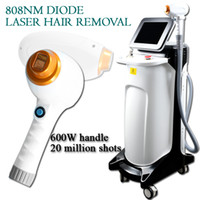 Wholesale spots laser machine for sale - Group buy Professional Painfree Permanent Hair Removal nm Diode Laser Hair Removal Machine million shots with mm big spot size
