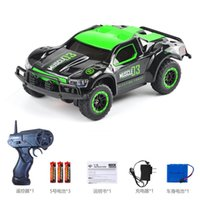 Wholesale kids power cars resale online - HB Remote Control Car Toys Super High Speed KM H Power Wheels Cool Drift LED Lights Multiplayer Sports Kid Birthday Christmas Gifts
