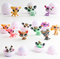 ingrosso bambini di lps-Nuovo LPS Q Pet Animal Burst Egg Toy Little Pet Shop Mini animali Giocattoli Cartoon Action Figure Collection Model Toy For Kids Gifts