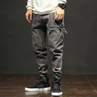 jeans de hombre 28 32 al por mayor-Lka hombre otoño verano pantalones Niza nuevos hombres Slim Fit algodón moda color sólido pantalones de gran tamaño marca Jeans 28-52