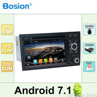 Wholesale audi a4 bluetooth resale online - 2din Car DVD GPS Navi for Audi A4 S4 RS4 E F B9 B7 With Wifi Bluetooth Radio RDS Canbus Map BT