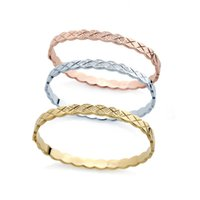 Wholesale gold bangles models for sale - Group buy fashion diamond design bracelet couple models foreign trade bracelet titanium steel bracelet bangle designer jewelry women bracelets