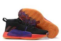 дешевые королевские синие пkers for windows оптовых-Crazy Dame 5 D Lillard баскетбольные кроссовки, модные интернет магазины для продажи мужских сапог, тренировочные кроссовки, рапорт резиновый простой