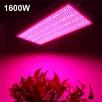 ingrosso l'impianto di idroponica della tenda aumenta le luci-300W 600W 800W 1200W 1600W Spettro completo a LED a spettro completo Lampade luminose per piante da fiore Sistema di coltura idroponica Veg Crescere / Bloom Tent