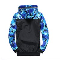 casacos de exército para homens venda por atacado-Jaqueta Piloto Bombardeiro dos homens Primavera do Exército camuflagem jaqueta de Carga Dos Homens Outerwear Casacos Do Exército Roupas Masculinas