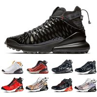 calzado deportivo 3d al por mayor-Nike air max 270 Stock X Black Anthracite 270 Ispa SP SOE Men women Running Shoes 270s Terra Orange Cushion White Ghost 3D Reflective Mens Sports Sneakers