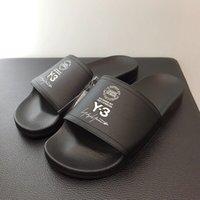 erkekler yeni gelenler sandaletler toptan satış-2019 Yaz Yeni Varış Lüks Marka Tasarımcısı En Kaliteli Erkek Kadın Y-3 Terlik Y3 Plaj Sandalet Scuffs EURO Boyutu 36-45
