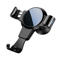 Wholesale cell phone clamp mount for sale – best Car Mount Phone Holder Window Universal Trilateral Arm Clamp Design inch Cell Phone Available Air Outlet Mobile Phone Bracket Holder