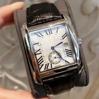 ingrosso orologi di qualità per le donne-2019 TOP Fashion Luxury Man / Women nero orologio in pelle piacevole designer in acciaio inossidabile sexy orologio da donna di alta qualità orologio al quarzo trasporto di goccia