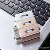 pad pod achat en gros de-HOT New I-FlashDrive Clé USB Flash Drive HD Pendrive Données Lightning pour 3 en 1 pour Android / Téléphone / Pad / Pod, Clé USB pour PC / AC 64GB