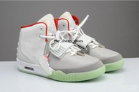 Wholesale basketball shoes sale free shipping resale online - Hot sale Kanye West Red NRG RED PINK Basketball Shoes Men