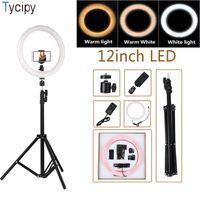 lumières pour la vidéo achat en gros de-Tycipy 12