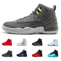 Wholesale tables games for sale - New Designer s Mens Basketball Shoes Ovo White Wolf Grey University Blue Flu Game Sports Men Sneaker Shoe Size