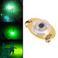 atração de pesca levou olhos venda por atacado-LED Underwater Gota Profunda Eye Lure Isca de Peixe Piscando Lâmpada Luz 1 Pcs Para A Mais Nova ferramenta de Pesca 1 pcs