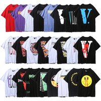 Wholesale make shirts free for sale - Vlone ss t shirt ins popular designs tee fashion made in Paris T shirt for men and women designers