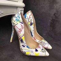 tênis de salto alto venda por atacado-Sapatos de Vestido das mulheres 2019 designer de luxo Teal Pumps sapatos de Escritório Cunhas de Carreira de Salto Alto Outono Asa Toes Dia de Ação de Graças