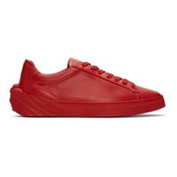 Wholesale top dress shoe brands for men resale online - New Designer Low Top All Red White Black Leather With Beauty s head Casual Shoes Fashion Luxury Sneakers Brand Shoes Dress shoes for Men