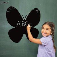 ingrosso lavagna a farfalla-Farfalla Adesivi smontabili della lavagna Decalcomanie della parete di vetro Decalcomanie della decorazione della parete