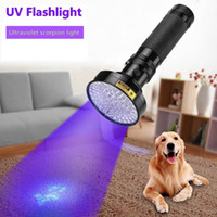 Wholesale uv flashlight scorpion for sale - Group buy UV Flashlight W LEDs nm UV LED Torch Back Detector Light for Dog Cat Urine Pet Stains Bed Bugs Scorpions