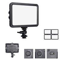 Wholesale pentax dslr for sale - Group buy Dual Color Temperature K Portable Led Video Light Stepless Dimmable Photographic Lighting for Canon Nikon Pentax DSLR