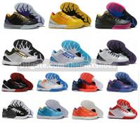 kobe 12 schuhe großhandel-Heiße MAMBA Zoom Kobe IV 4 KB Protro Draft Day Hornissen Carpe Diem Del Sol Sport Basketball Schuhe Herren ZK4 4s Turnschuhe Größe US7-12