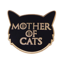 Wholesale accessories game thrones for sale - Group buy Game of Thrones Mother of cats needle minder pin cute hat bag accessory