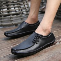 Wholesale casual handmade leather driving shoes moccasins resale online - NORTHMARCH Handmade Leather Moccasin Mens Fashion Driving Shoes Mens Breathable Loafer Shoes Men Zapatos Hombre Casual Cuero