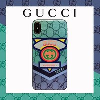 Wholesale rabbit phone case cover for sale – best Hot High end Brand Designer phone case for iphone X XS XR Xs Max plus Plus Top Quality Leather Cover Case Bear Pig Rabbit Print